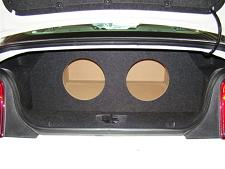 2005-2010 Ford Mustang Coupe Subwoofer Enclosure