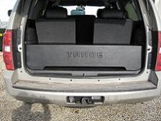 2007-2013 Tahoe/Yukon Downfire Subwoofer Box For Manual Lift Gate