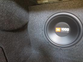 2013-2015 Chevy Malibu Subwoofer Enclosure
