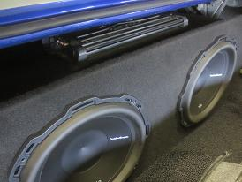 1967 12 Rear Fire Subwoofer Box By