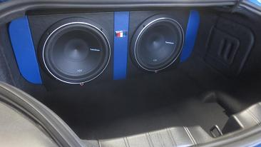2017 Camaro 50th Anniversary >> 2016-2018 Camaro LT/LS/SS Dual 10/12 Rear Fire Subwoofer ...
