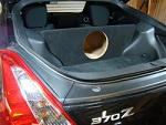 "Nissan 370Z 1-10"" Subwoofer Enclosure"
