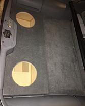 82-92 3rd Gen. Camaro/Firebird Rear Well Enclosure