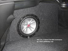 "2010-2014 Camaro 10"" Drop-In Drivers Side Stealth Enclosure"