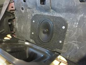 2011-2015 Camaro Convertible Factory Subwoofer Replacement 6x9 Plate