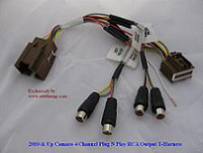 Subthump Exclusive 2010-2015 Camaro Plug & Play RCA Output T-Harness For Factory Boston Amp V3.0  *Best Seller*