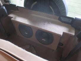 1987 2006 Jeep Wrangler 2 Door Subwoofer Box