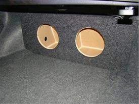 2013-2015 Honda Accord Coupe or Sedan Subwoofer Box
