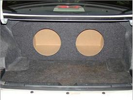 2003-2007 Honda Accord Coupe or Sedan Subwoofer Box