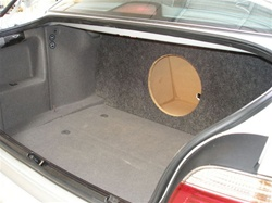 1997-03 BMW 5 Series Subwoofer Enclosure