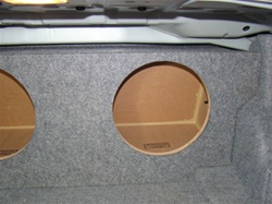 2006-2012 BMW 3 Series Sedan( E90 ) or Coupe ( E92) Subwoofer En