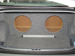 2006-2012 BMW 3 Series Sedan or Coupe Subwoofer Enclosure