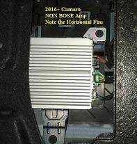 *new* 2016-2019 camaro non bose plug n play amp integration harness