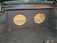 2011-2015 Dodge Charger Subwoofer Enclosure