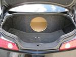 "2003+ Infiniti G35 Coupe 1-12"" Subwoofer Enclosure"