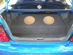 2002-07 Subaru Impreza (4door) Subwoofer Enclosure