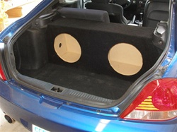2003 & up Hyundai Tiburon Subwoofer Enclosure