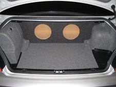 1999-2005 BMW 3 Series Coupe Subwoofer Enclosure *New*