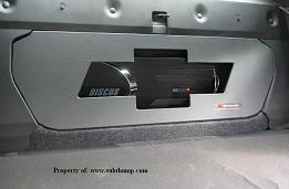 2010 & Up Bowtie Panel for Trunk Subwoofer Boxes