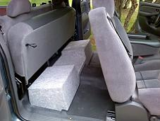 1999-2006 Silverado//Sierra Extended Cab Dual 10 Downfire With Amp Space