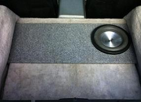 *New* C4 Corvette Storage Bin Subwoofer Box