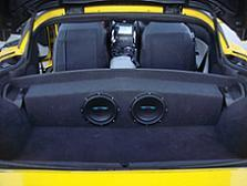 C6 Corvette Partition Subwoofer Box