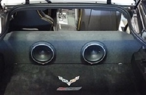 *New* C7 Corvette Partition Subwoofer Box