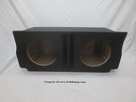 2011-2019 Dodge Charger Dual 12 Ported Subwoofer Box