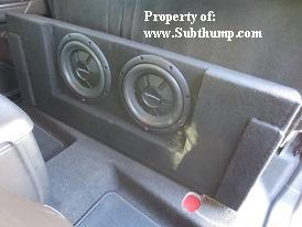 *New* 2015-2019 Colorado/Canyon Crew Cab Dual 10 Downfire Sub Box *Hot Product*