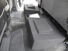 2014-2018 GM Crew Cab Dual Downfire Box With Amp Space *Hot Product*
