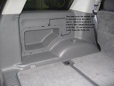 02-10 Ford Explorer 4-Door Side Cargo Stealth Enclosure