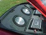 93-02 Camaro/Firebird Rear Well Enclosure