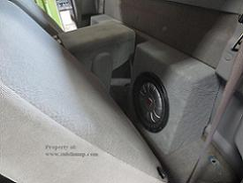 97-03 F150 Regular Cab Subwoofer Enclosure