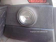 FJ Cruiser Passenger Side Stealth Sub Enclosure Carpeted