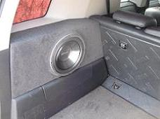 FJ Cruiser Drivers Side Stealth Sub Enclosure Carpeted