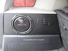 FJ Cruiser Drivers Side Stealth Sub Enclosure  Vinyl