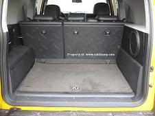 FJ Cruiser Passenger Side Stealth Sub Enclosure  Vinyl
