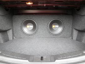 2013 Ford Fusion Subwoofer Box