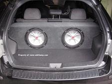 2008 2012 Subaru Impreza 4door Subwoofer Enclosure