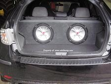 2008-2012 Subaru Impreza (4door) Hatch Subwoofer Enclosure