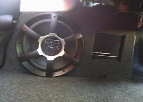 2010-2015 Camaro Coupe Stealth Enclosure with Integrated Amp Shelf