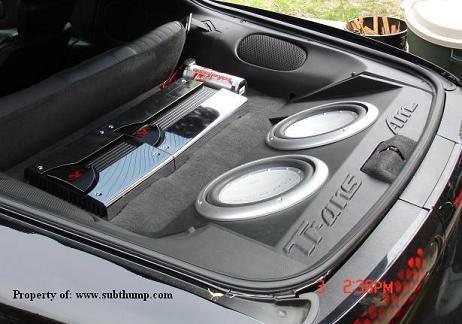93 02 Camaro Subwoofer Boxes