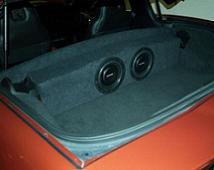 2005 2013 C6 Corvette Partition Sub Box