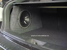 2008 & Up Subaru Impreza (4door) Hatch Stealth Enclosure