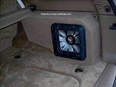 02 & Up Chevy Trailblazer/GMC Envoy Side Cargo Stealth Enclosure