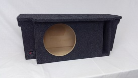 *New* 1987-2006 Jeep Wrangler Sinlge 12 Front Fire Sub Enclosure Vented