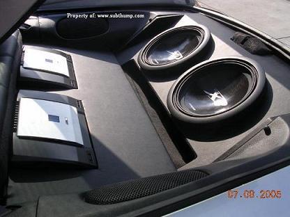 93-02 Camaro subwoofer boxes