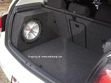 2006-2013 Volkswagon Golf, Rabbit, GTI Large Drivers Side Stealth Enclosure *new*